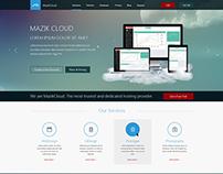Mazik Cloud (Web Application Landing page)
