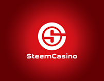 Steem Casino - Logo design