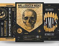 Halloween Flyer Bundle V9