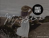 MISSKAH SCRIPT FONT – FREE DOWNLOAD