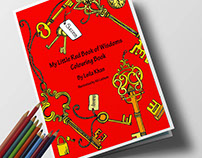 My Little Red Book of Wisdoms Colouring Book