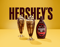 Hershey's Summer Syrup Campaign
