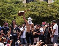 Marcha de artistas domingo 7 de mayo