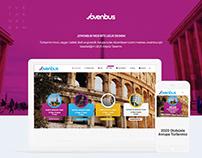 Jovenbus 2019 Web Arayüz Tasarımı