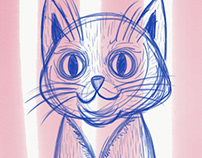 Grumpy kitty quick sketch