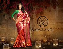 Sarvaangi Sarees Branding
