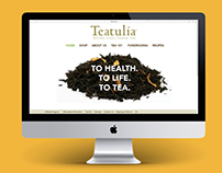 Teatulia: Website Redesign