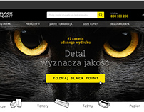 Black Point - Web design