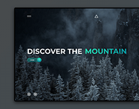 Travel Mountain | UI Web Design