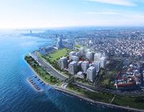 Özak GYO Büyükyalı Havadan Fotoğraf Çekimleri