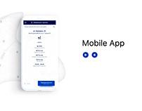 "Mobile app ""СитиПаркинг"""