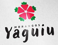 Logotipo - Morangos Yaguiu