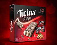 Twins Delights Chocolate Brand Packaging