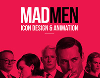 MAD MEN icon design and animation