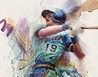 Robin Yount Watercolor