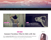 Egret Fashion WordPress Theme