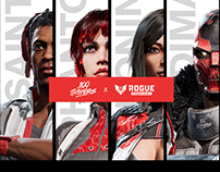 100 Thieves x Rogue Company Character Skins