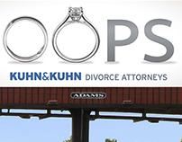 Kuhn & Kuhn Divorce Attorneys Billboard