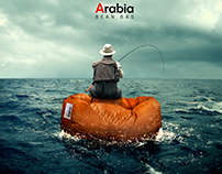 Arabia bean bag (Campaign)