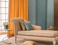 D'DECOR Textured Plain Fabrics Collection Shoot