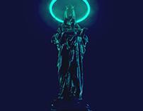 Very Aesthetic Virgin Mary