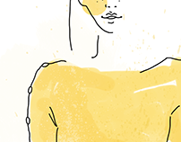 Pretty yellow | FASHION ILLUSTRATION
