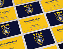 DTSH Business card and Flyer