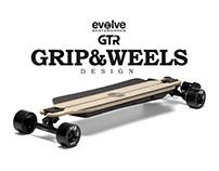 GTR BAMBOO SERIES GRIP&WEELS