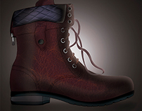 Boot - Footwear design fashion