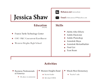 traditional resume