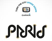 Garmin GPS - Turn the city upside down
