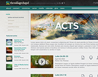The Village Chapel: Website Redesign