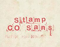 LRC Type - Stamp CO Sans (Free)