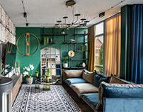 Vibrant Interior in Vilnius by Elis Home design