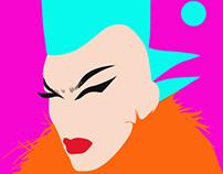 Sasha Velour Illustration
