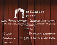 Stillhouse Press 2016 Contest Ads