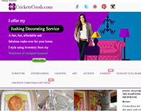 Home Decor Web Design
