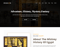 Pharaoh - Museum & Exhibition HTML Template