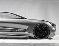 MERCEDES - BENZ FSL1 CONCEPT DESIGN OF SPORT LIMO