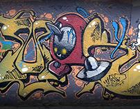 MONKY * graffletters