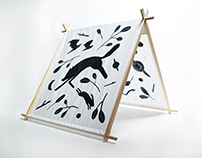 Negative Space Tent