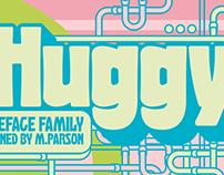 Huggy typeface