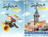 Sofar Sounds İstanbul Posters