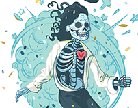 Michael Jackson Suar skull!
