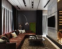 3D Rendering | Residential | Modern Luxurious Living