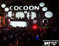 video mapping stage design cocoon