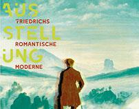 "fiktive Ausstellung ""Friedrichs Romantische Moderne"""