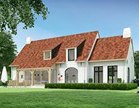 Single family house with garage Hautekiet