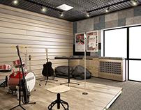 MUSICSTUDIO IN THESCHOOL