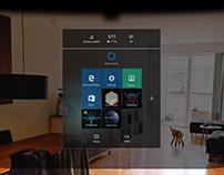Microsoft HoloLens Device/Visor Mockup
